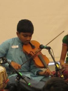 Mohanam Varnam Ripples Through Time - Swarlahari Presentation at Davis Library